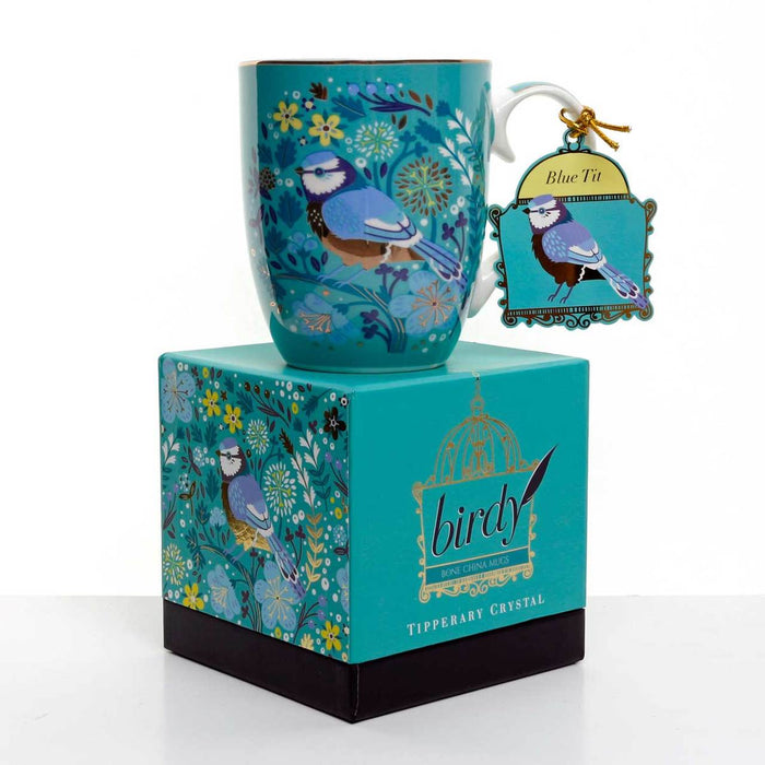 Tipperary Single Birdy Mug - Blue Tit