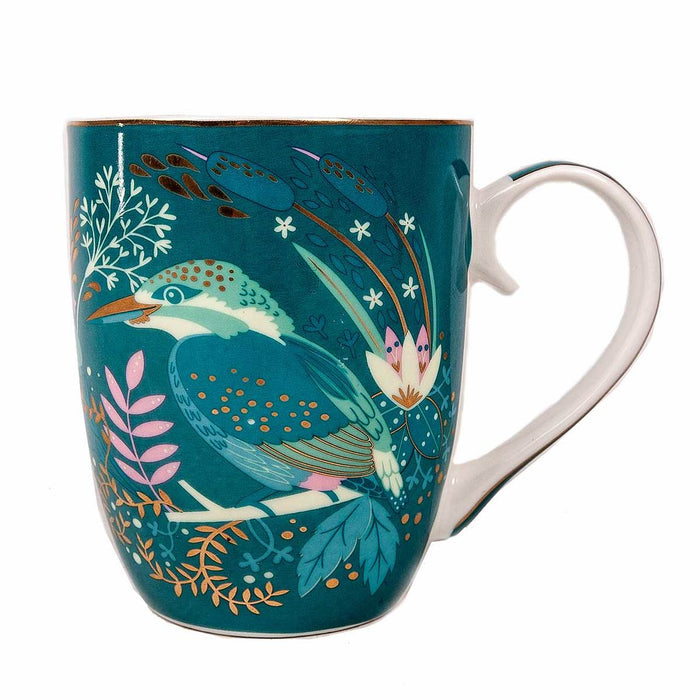 Tipperary Single Birdy Mug - Kingfisher