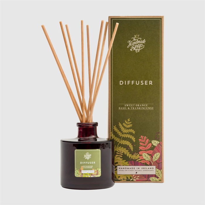 Sweet Orange, Basil & Frankincense - Diffuser