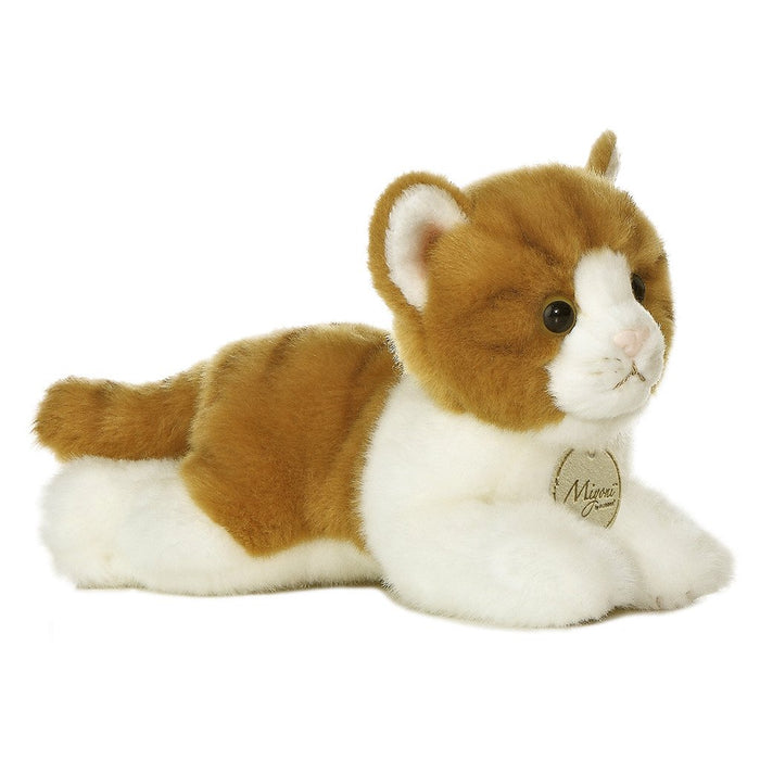 MiYoni Orange Tabby Cat 8In