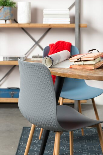 Classic Shell Chair - Grey