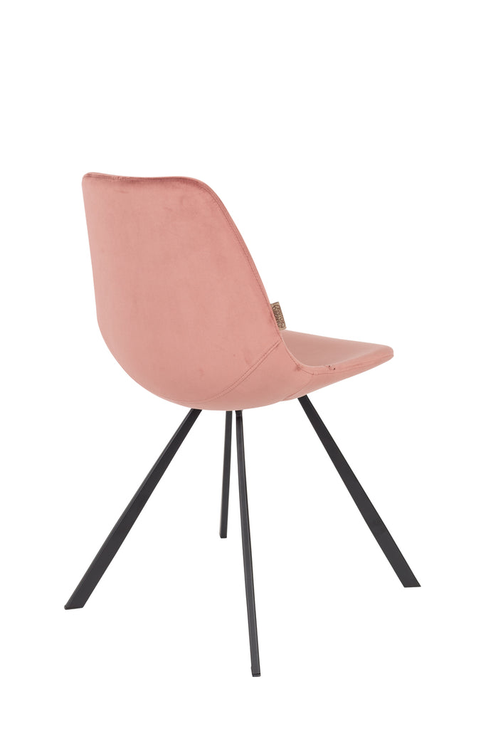 Franky Chair Velvet - Old Pink
