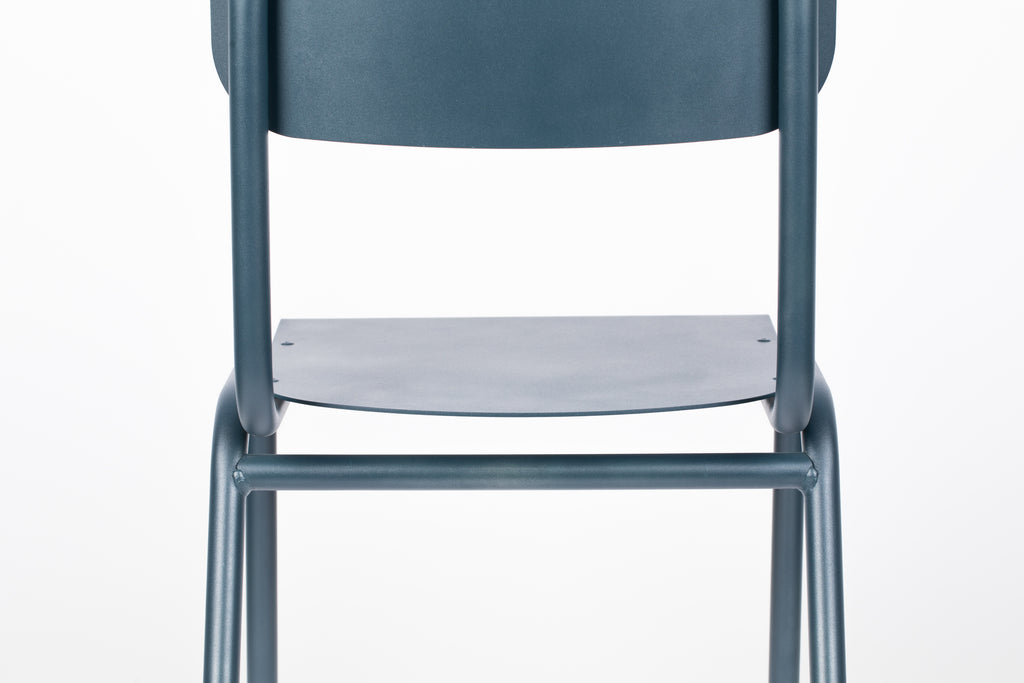 Chair Back To School - Outdoor Grey Blue