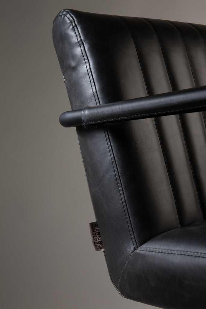 Stitched Armchair - Grey
