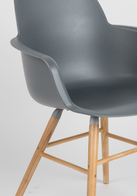 Albert Kuip Armchair - Dark Grey