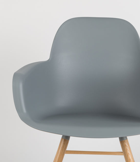Albert Kuip Armchair - Light Grey