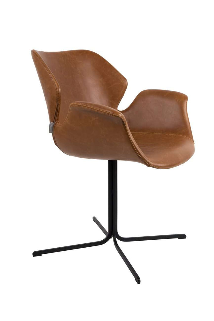 All Brown Nikki Armchair