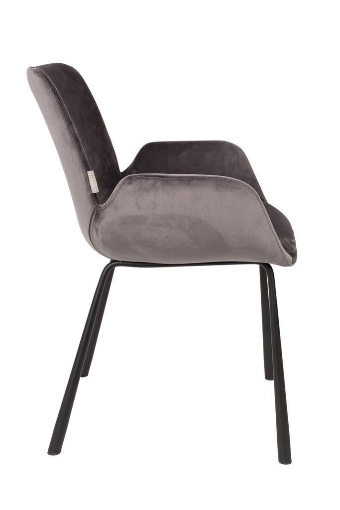 Brit Armchair - Dark Grey