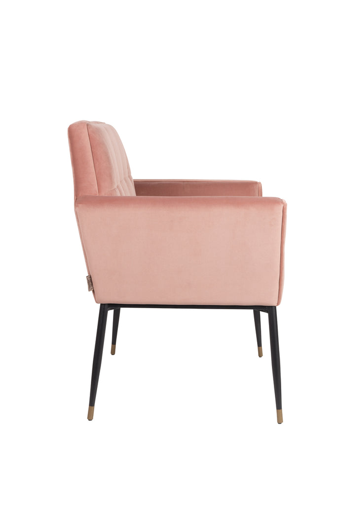 Prime Kate Armchair Pink Clay Download Free Architecture Designs Grimeyleaguecom