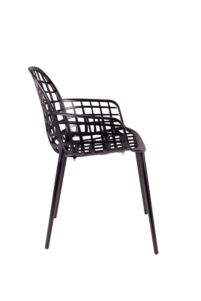 Armchair Albert Kuip Garden - Black