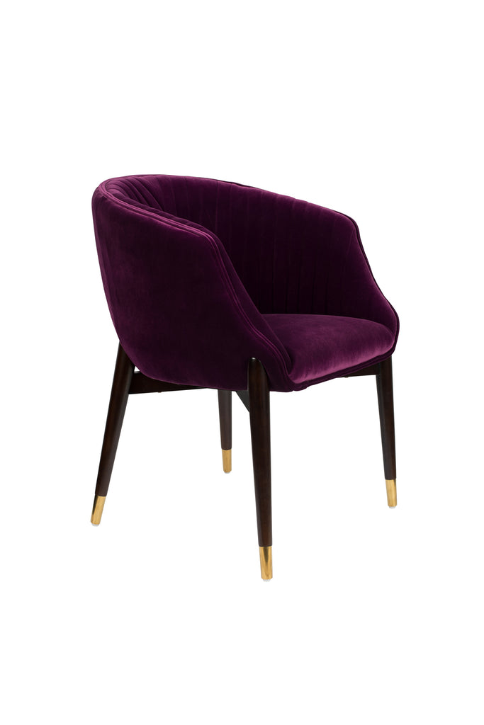Dolly Lounge Chair - Purple