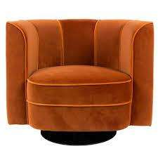 Flower Lounge Chair - Orange
