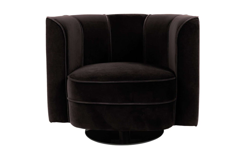 Flower Lounge Chair - Black