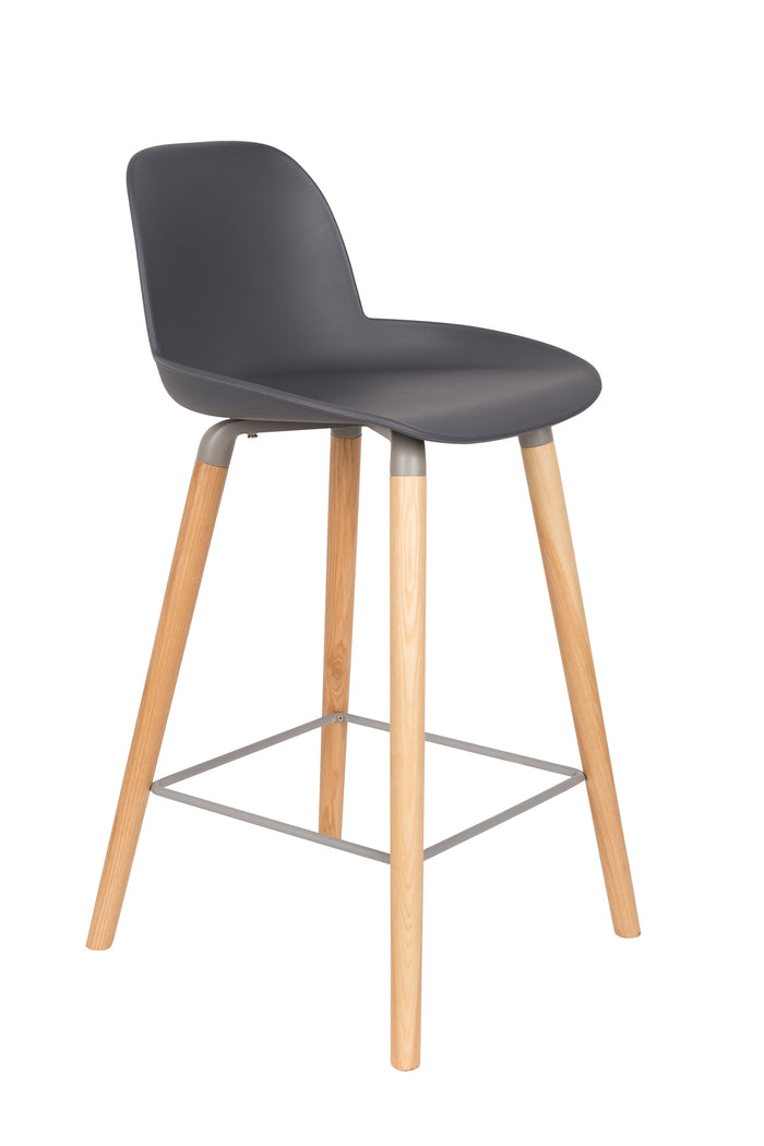 Albert Kuip Barstool Dark Grey