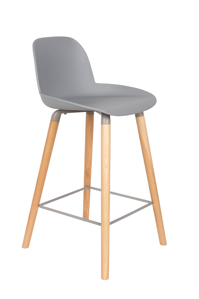 Albert Kuip Barstool Light Grey