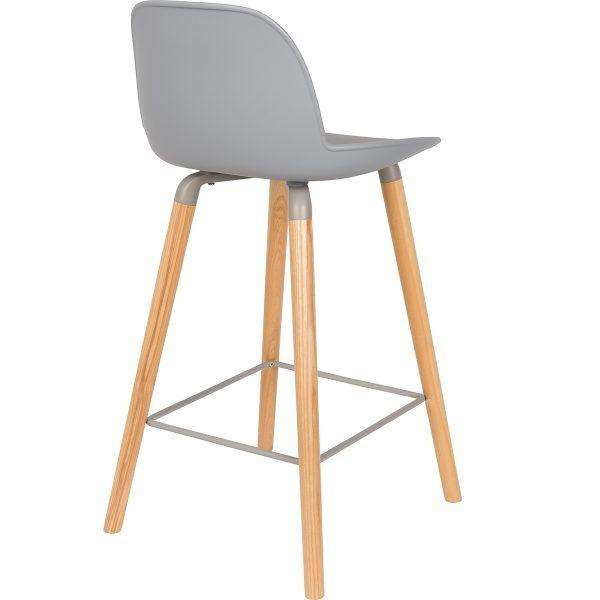 Albert Kuip Counter Stool - Light Grey
