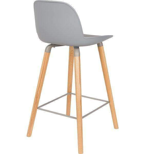 Sale -Albert Kuip Counter Stool - Light Grey