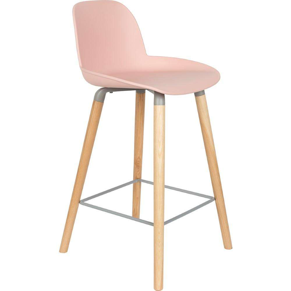 Albert Kuip Counter Stool - Old Pink