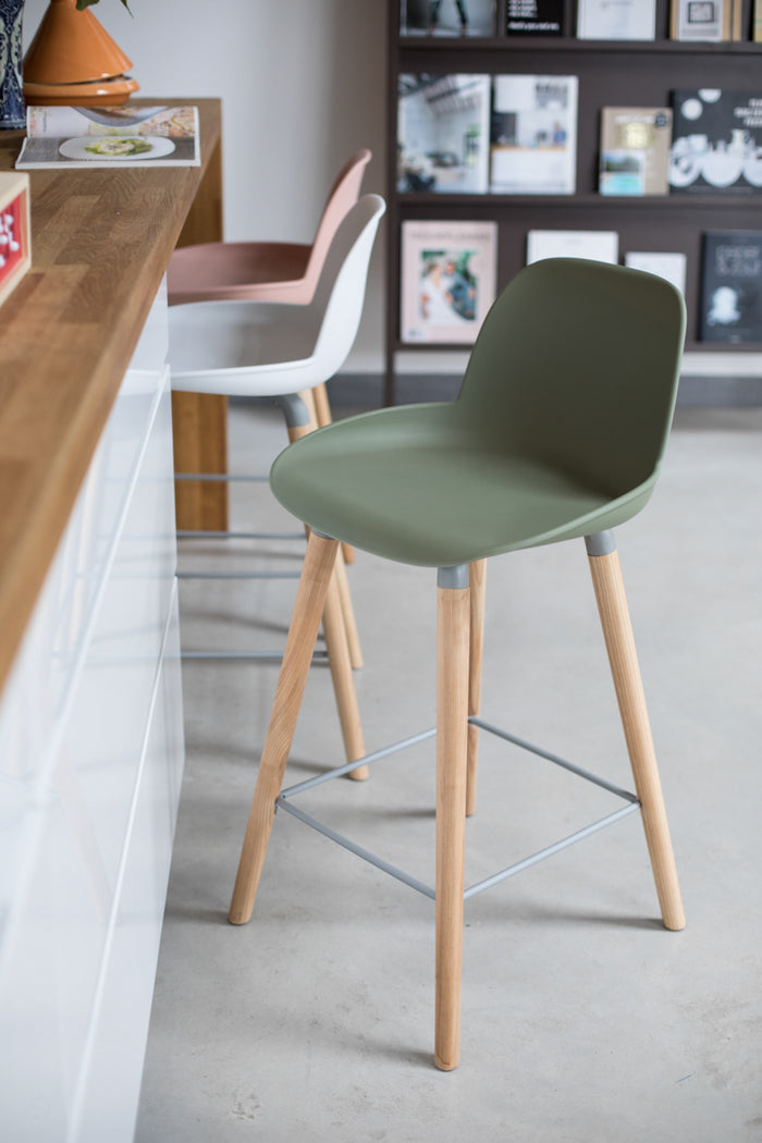 Albert Kuip Counter Stool - Green