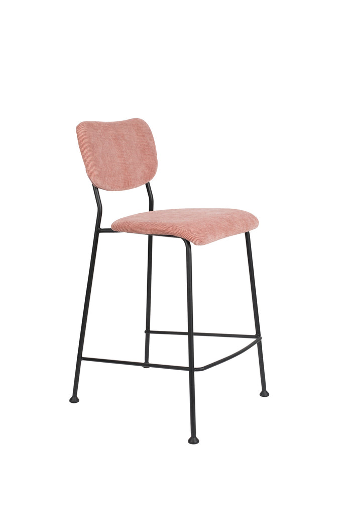 Benson Counter Stool - Pink