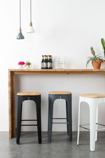 Breakfast Barstool - Dark Grey