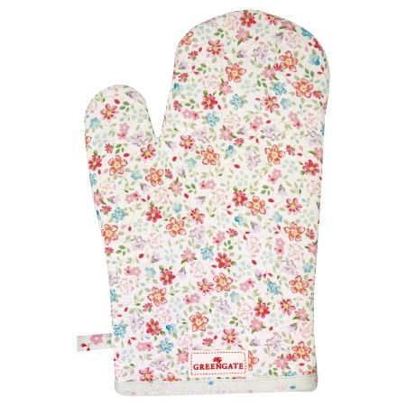 Grill Glove Clementine - White & Floral