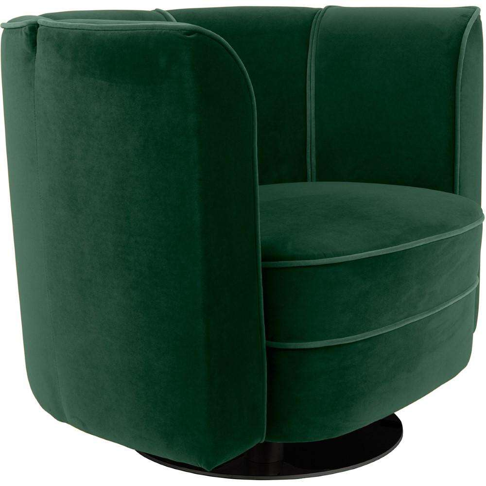 Flower Lounge Chair - Green