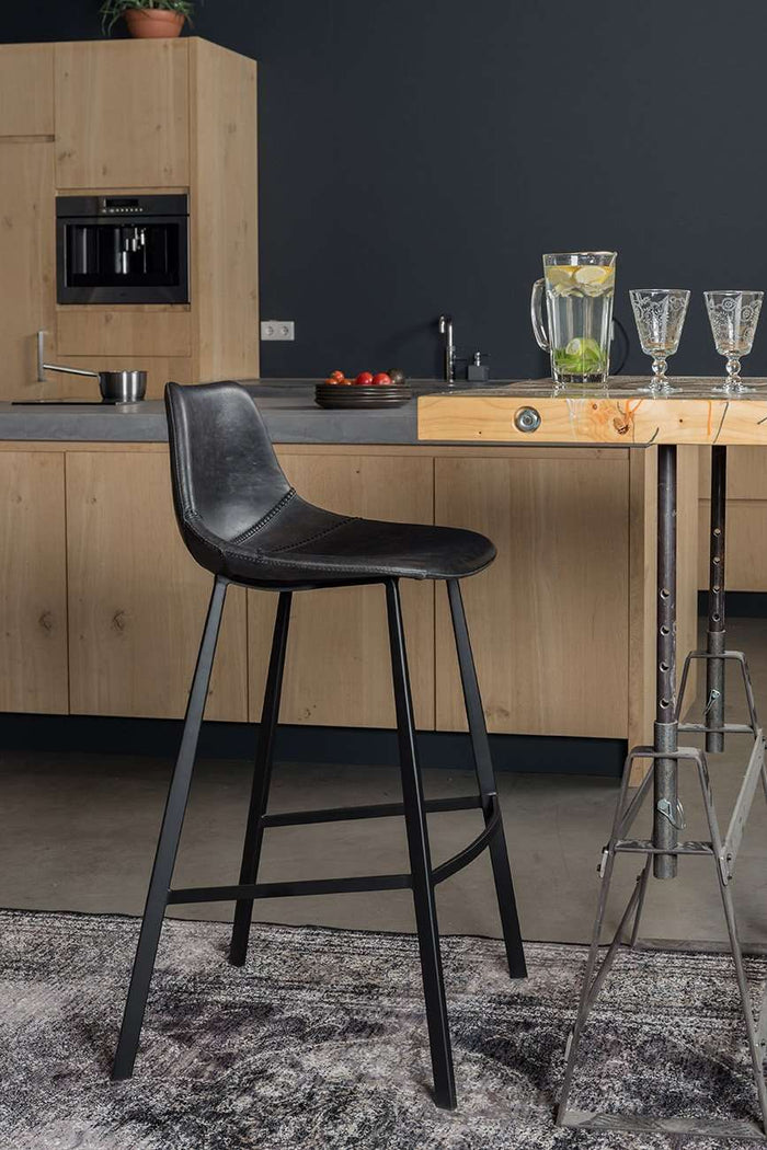 Franky Counter Stool - Black