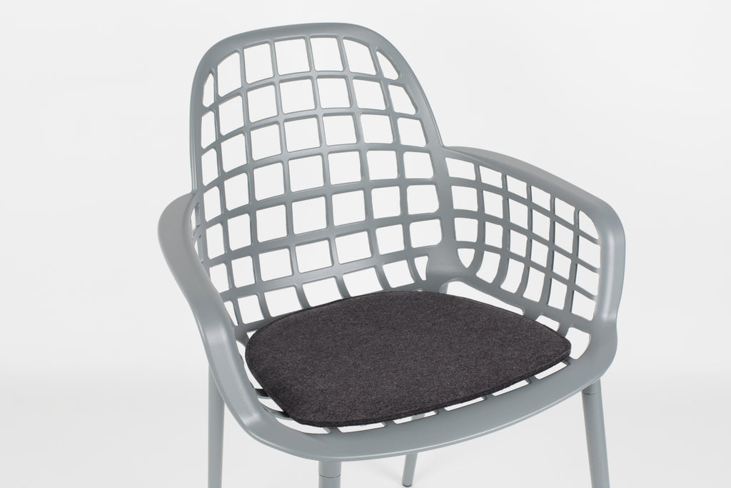 Cushion for Albert  Kuip Garden Chair - Dark Grey