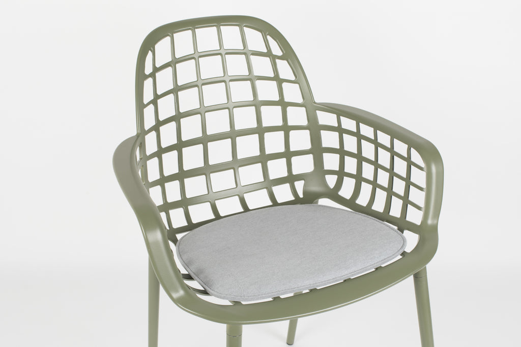 Cushion for Albert  Kuip Garden Chair - Light Grey