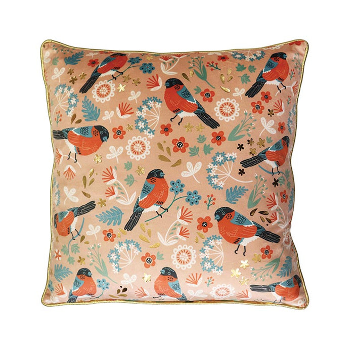 Tipperary Crystal Birdy Goldfinch - Cushion