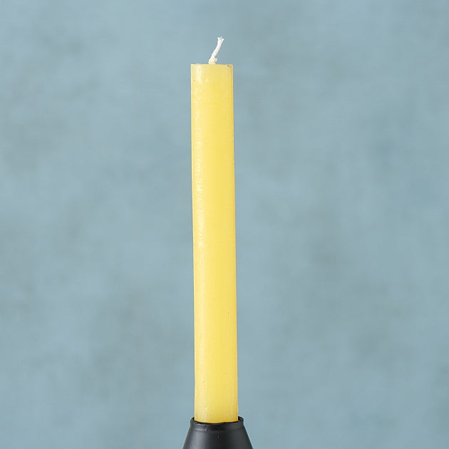 Taper Candle Melia Yellow