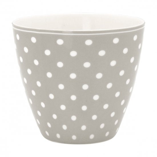 GreenGate Latte Cup Spot - Grey