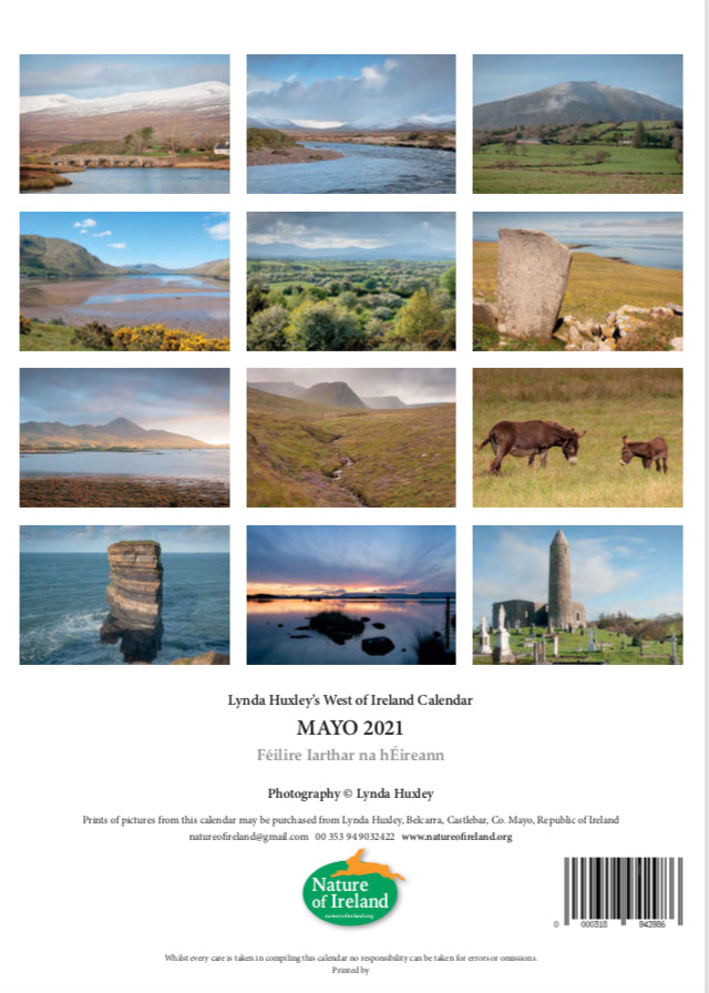 2021 West of Ireland Mayo Calendar