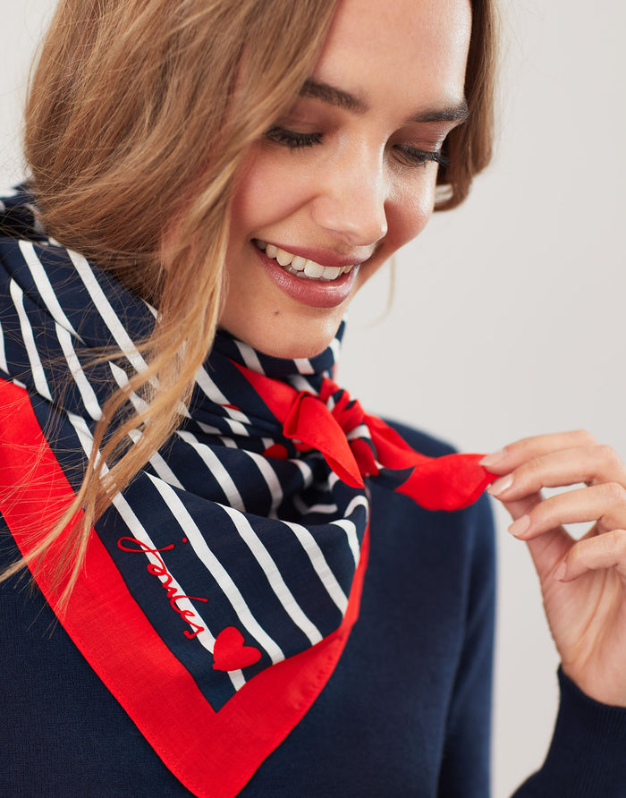Joules Square Neckerchief - Heartstrip