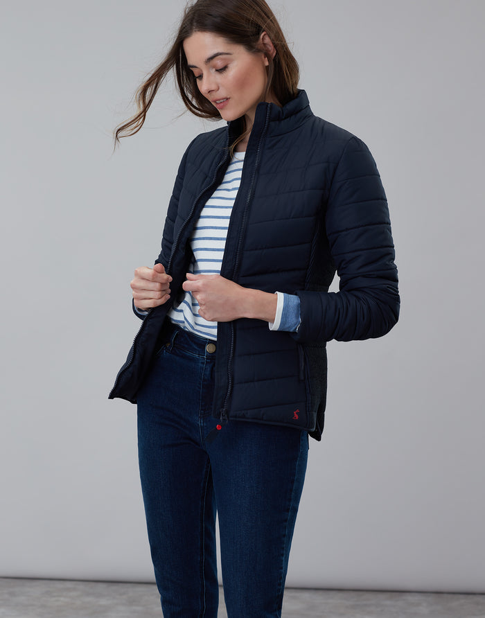 Joules Padded Jacket - Navy