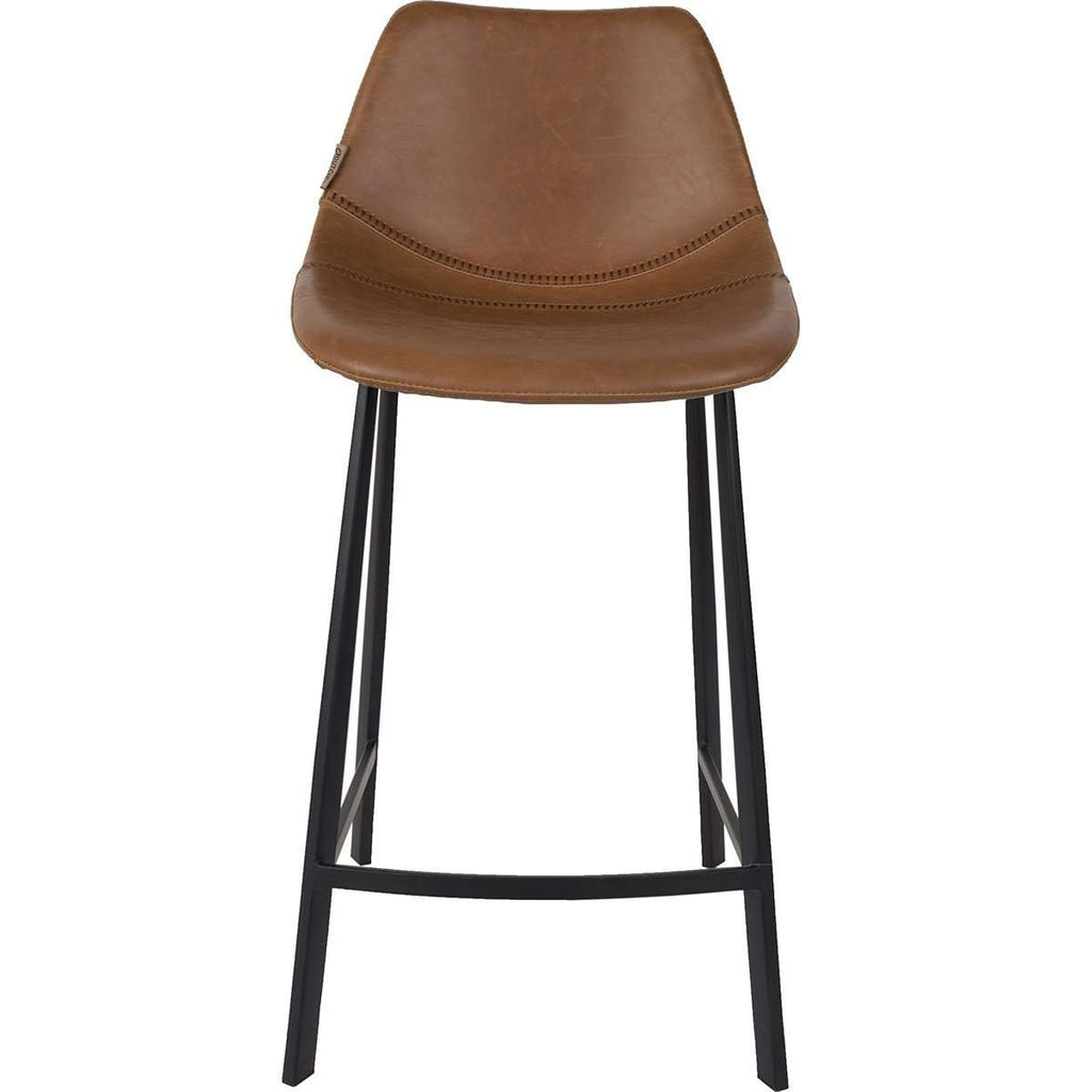 Franky Counter Stool - Brown