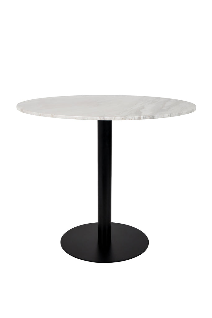 Table Marble King 90' Black