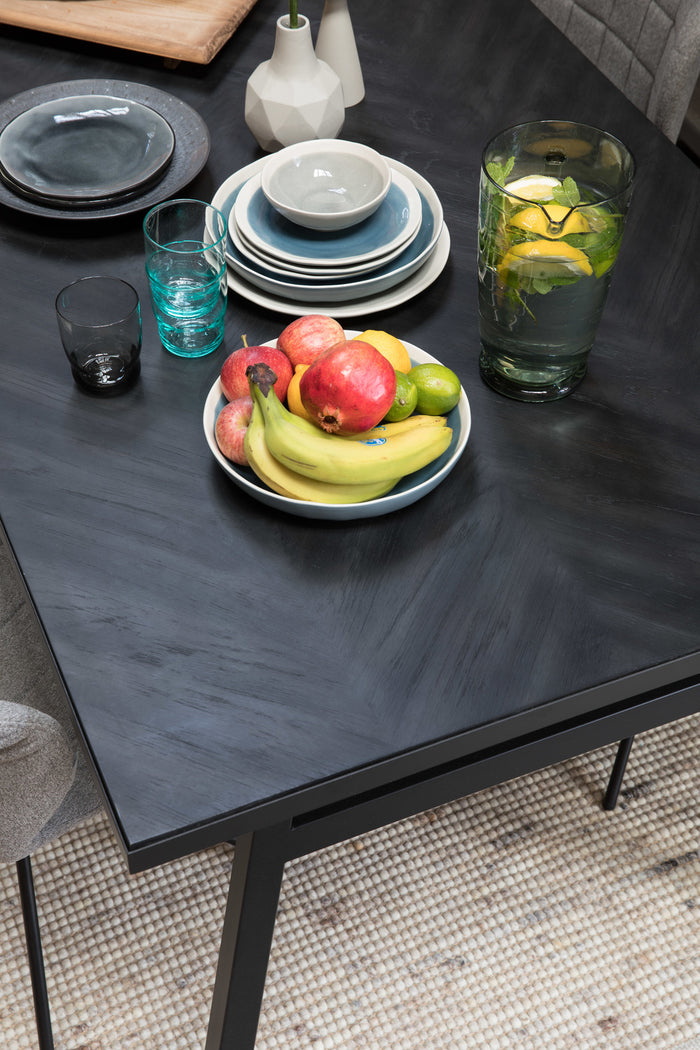 Black Seth Table 220x90cm