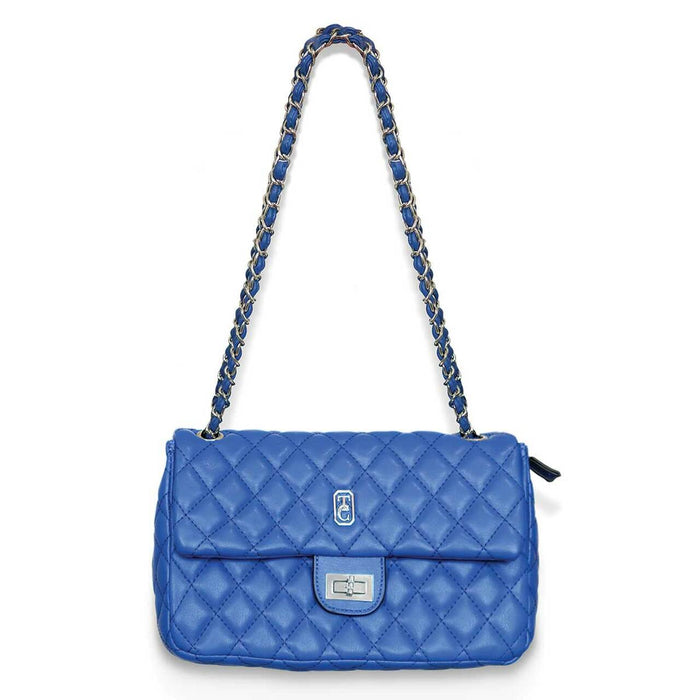 Tipperary Crystal Palermo Royal Blue Padded Handbag