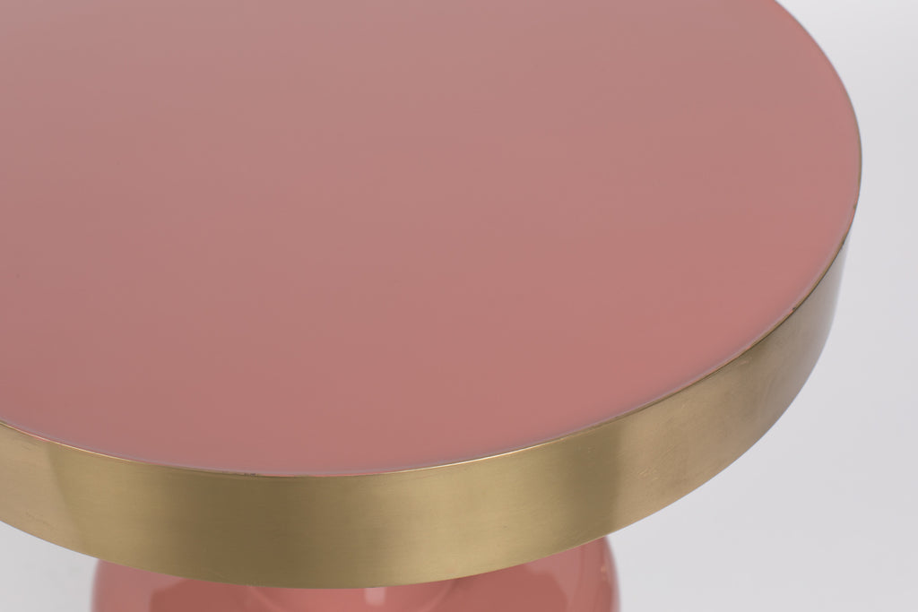 Glam Side Table - Pink