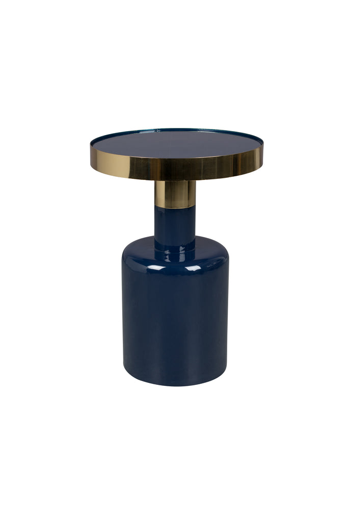 Glam Side Table - Blue