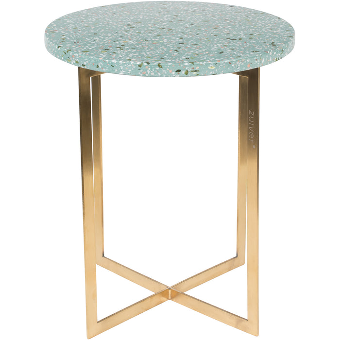 Luigi Round Side Table - Green