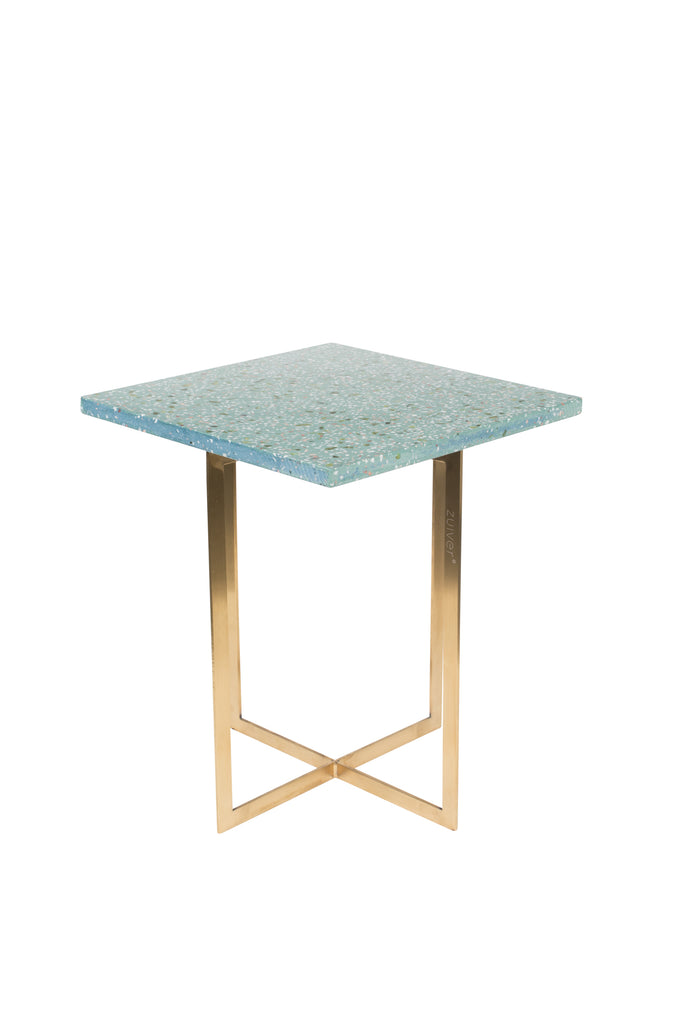 Luigi Square Side Table - Green