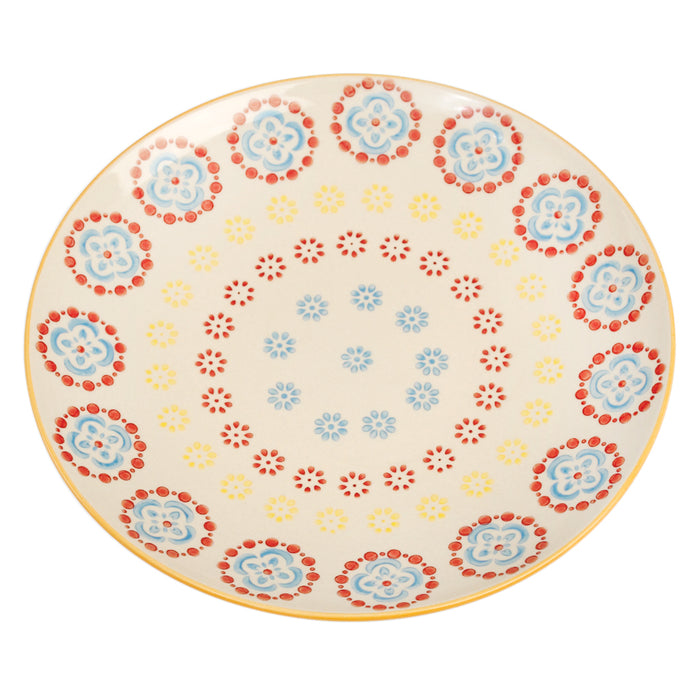 Moorish Cinnamon Flower Plate