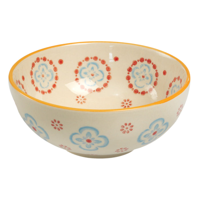 Moorish Cinnamon Flower Cereal Bowl
