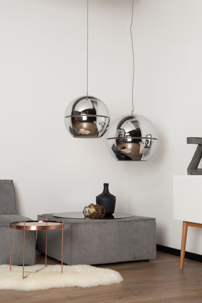 Retro Pendant Lamp - Chrome