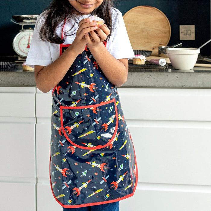 Space Age Children's Apron