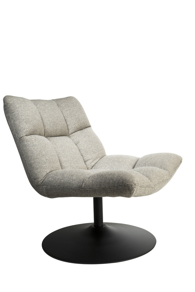 Bar Lounge Chair - Light Grey