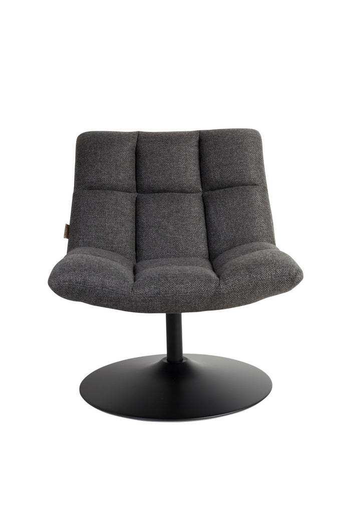Bar Lounge Chair - Dark Grey